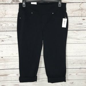 Style & Co Capris Low-Rise Cuff Stretch Flat Front